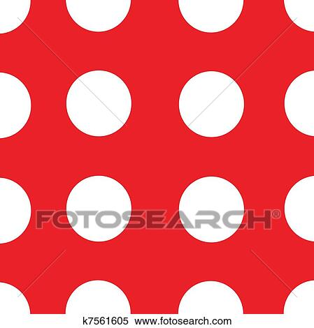 stock illustration of red background white polka dots k7561605 rh fotosearch com polka dot background clipart polka dot background clipart free