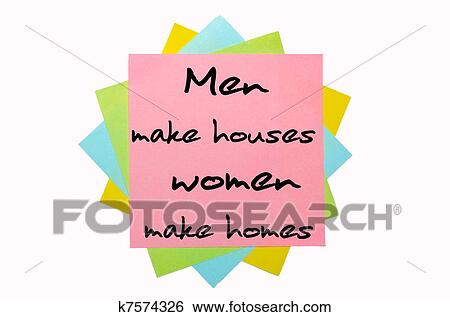 men make a house women make With women accounting for just 10 percent of the members in japan's lower house,  for women and men  older men, to make the council more.