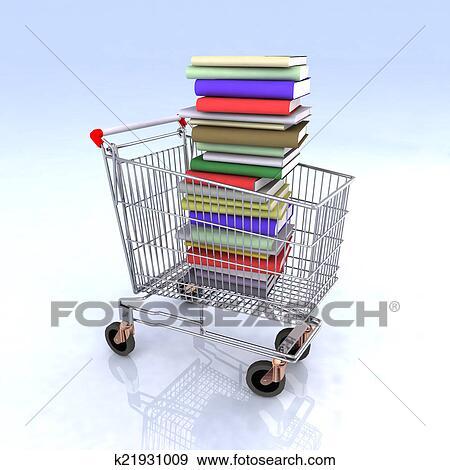 - 购物车, 书