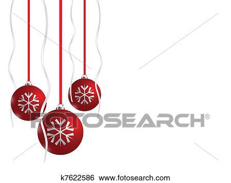 clip art rot weihnachten kugeln eps8 k7622586 suche. Black Bedroom Furniture Sets. Home Design Ideas