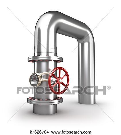Dibujos llave de paso y tubo blanco k7626784 buscar for Llave de paso en ingles