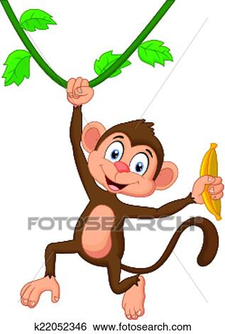 卡通漫画, 猴子