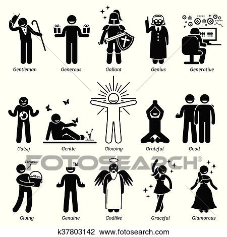 Clipart   Positive Character Traits. Fotosearch   Search Clip Art,  Illustration Murals, Drawings  Positive Character Traits