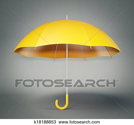 手绘图 - 伞