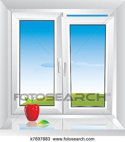 Fenster Clipart Schwarz Weiß | harzite.com