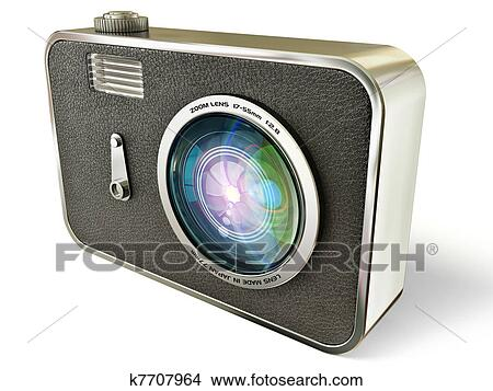 手绘图 - 照相机