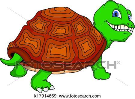 Clipart mignon tortue verte dessin anim k17914669 recherchez des cliparts des - Clipart tortue ...