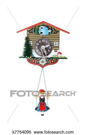 Stock Image Of Cuckoo Clock K7754095