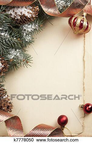 stock fotografie kunst altmodisch weihnachten. Black Bedroom Furniture Sets. Home Design Ideas