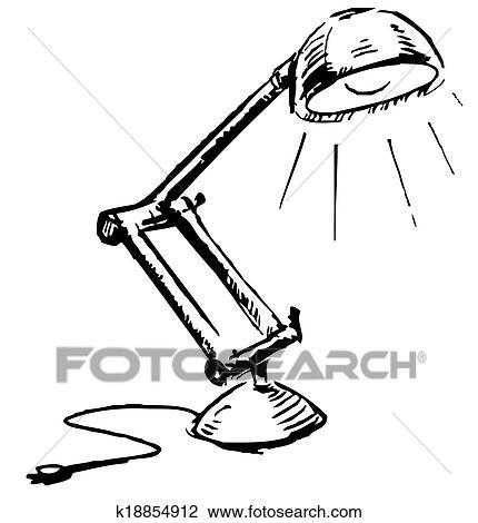 Schreibtischlampe Clipart sdatec.com