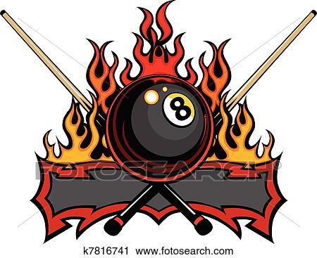 Billiards Clip Art and Illustration. 3,243 billiards clipart ...