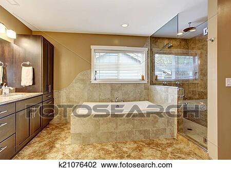 Glassdør dusj