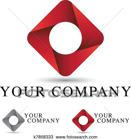 Clipart of Corporate Logo Design k7858333 - Search Clip Art ...