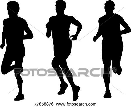 Runner Illustrations and Clip Art. 4,221 runner royalty free ...