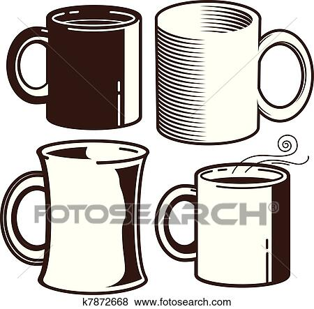 Coffee mug Clipart and Illustration. 30,184 coffee mug clip art ...