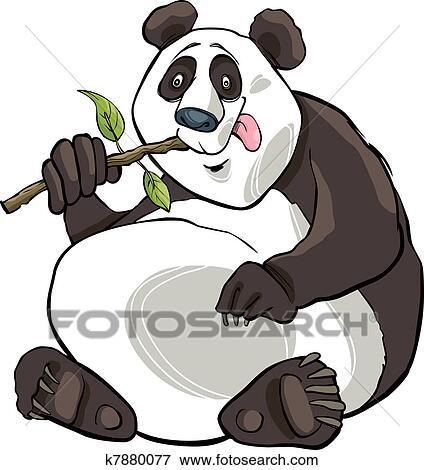 剪贴画 - 熊猫熊