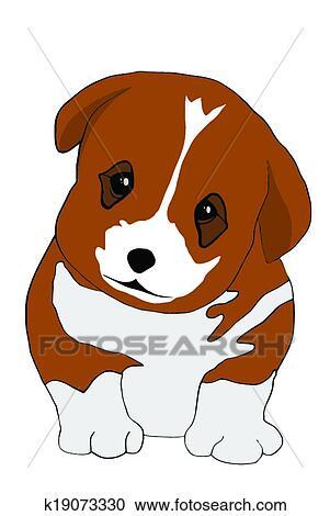 剪贴画 - 小狗