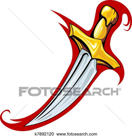clipart of medieval dagger k7892120 search clip art illustration rh fotosearch com medieval clip art free medieval clip art free
