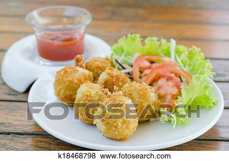 Крокеты сыром рецепт фото