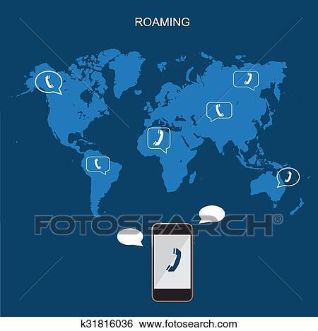 Clip Art International Roaming