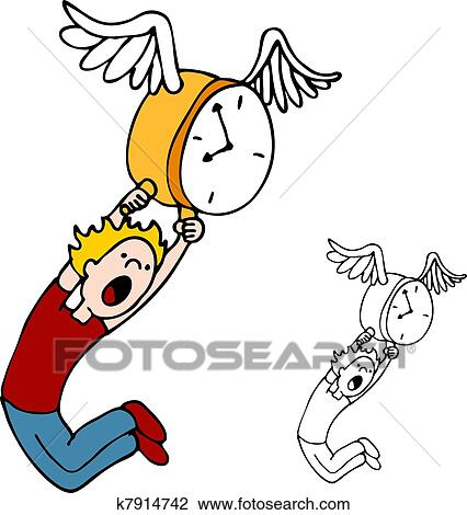 Time flies Clip Art Illustrations. 1,565 time flies clipart EPS ...
