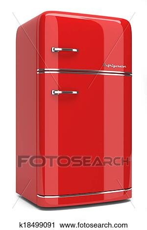 Kjøleskap retro