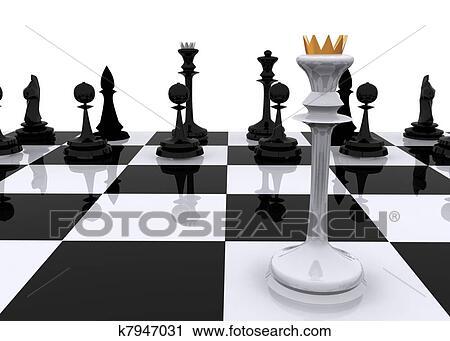 Stock Fotografie - schach, begriff. Fotosearch - Suche Stockfotos, Fotos, Prints, Bilder und Foto Clipart