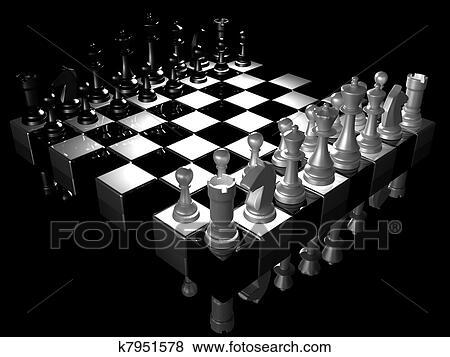 Bild - schach. Fotosearch - Suche Stockfotos, Bilder, Print Fotos und Foto-Clipart