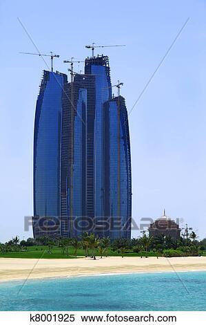 coleccin de imgen abu dhabi uae abril edificio alto etihad torres atrs ser