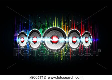 speakers art. clipart - loud speaker on speakers art