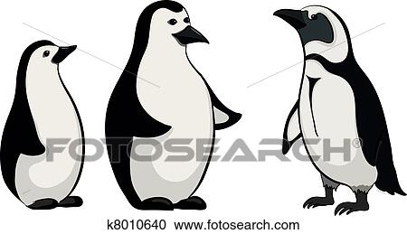Emperor Penguin Clipart Black And White Clipart Emperor Penguins