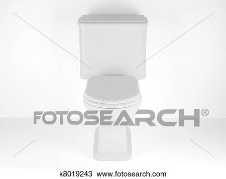 手绘图 - 洗手间碗