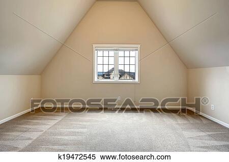 图片银行 - 空房间, 带, 拱状的天花板