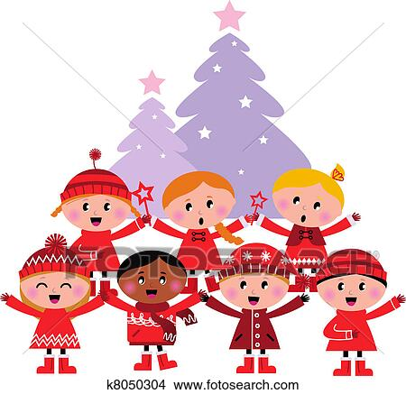 Carolers Clip Art Royalty Free. 590 carolers clipart vector EPS ...