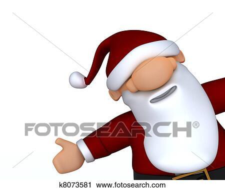 剪贴画 漂亮, 圣诞老人, 漫画