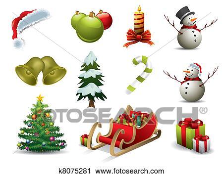 clipart weihnachten vektor heiligenbilder k8075281. Black Bedroom Furniture Sets. Home Design Ideas