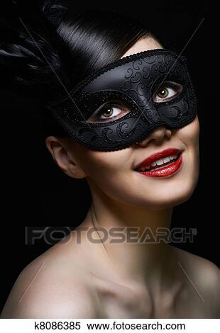 图片银行 - 化妆舞会面具图片