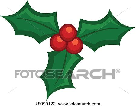 Clip Art Holly Leaves Clipart clipart of holly leaves k8099122 search clip art illustration fotosearch murals drawings and