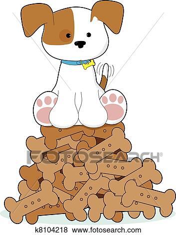 可爱的小狗画画
