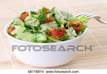 Салат из овощей фото