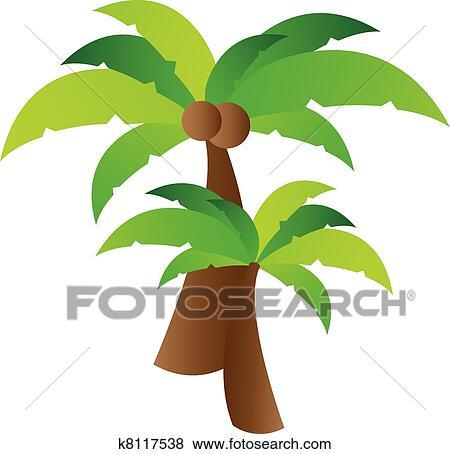 Clipart palmier vecteur k8117538 recherchez des cliparts des illustrations des dessins et - Palmier clipart ...