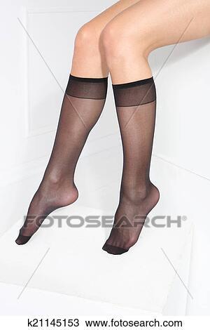 Banque de photo chaussettes k21145153 recherchez des for Collant mural francais