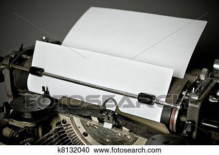 ストックフォト/写真素材 - 古い, 型, タイプライター, ∥で∥, ... 古い, 型, タ