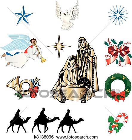 clip art christliche weihnachten heiligenbilder. Black Bedroom Furniture Sets. Home Design Ideas
