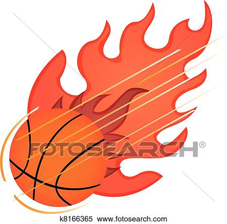 关于篮球的剪贴画