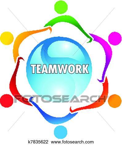 clipart of teamwork k7835622 search clip art illustration murals rh fotosearch com teamwork clip art images teamwork clipart free