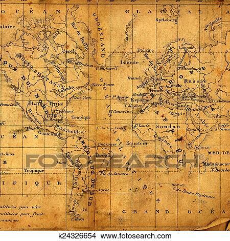 手绘图 - 古代, 地图
