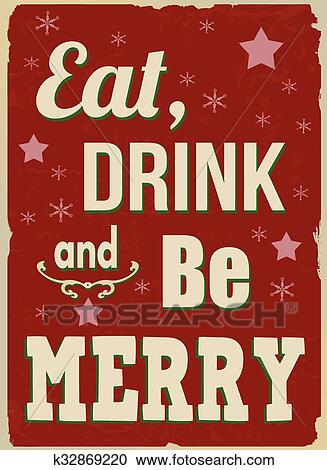 eat drink and be merry essay