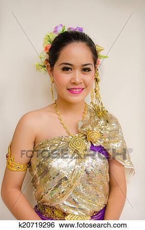 图片银行 - 泰国人, 风格, 布