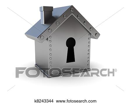 Large Home Safes Clip Art